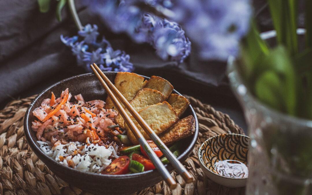 Miska rozmaitości czyli buddha bowl