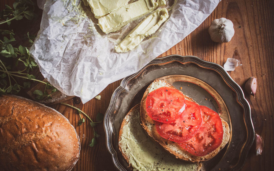 Domowe wegańskie masło